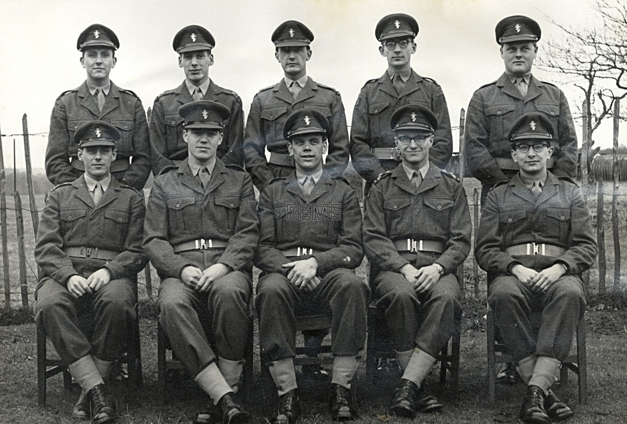 No 6A Special Regular Young Officers (Workshop Practice) Course, REME Officers' School, 1960.