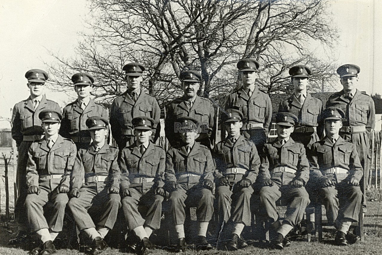 No 7 Regular Young Officers (Workshop Practice) Course, REME Officers' School, 1961.