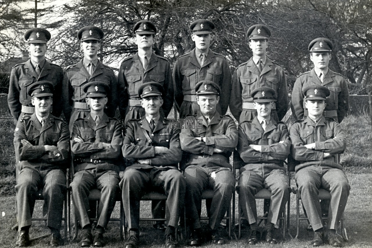 No 26 Regular Young Officers' Course, REME Officers' School, 1960