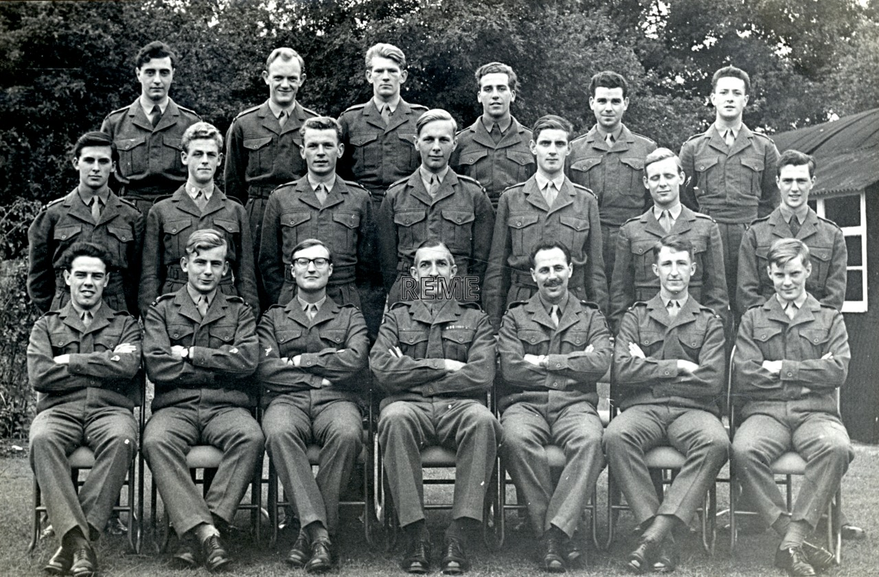 No 27 Regular Young Officers' Course, REME Officers' School, 1961