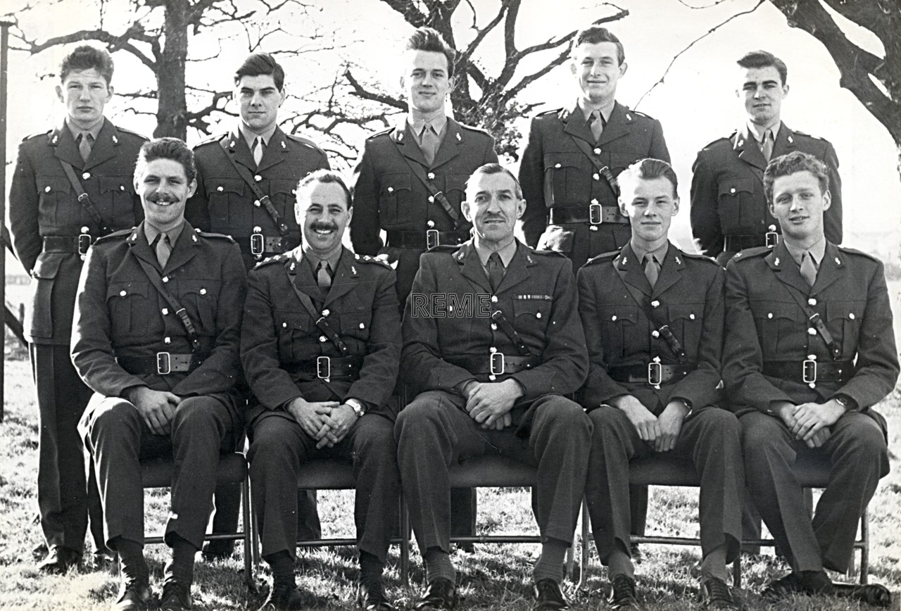 No 28 Regular Young Officers' Course, REME Officers' School, 1962