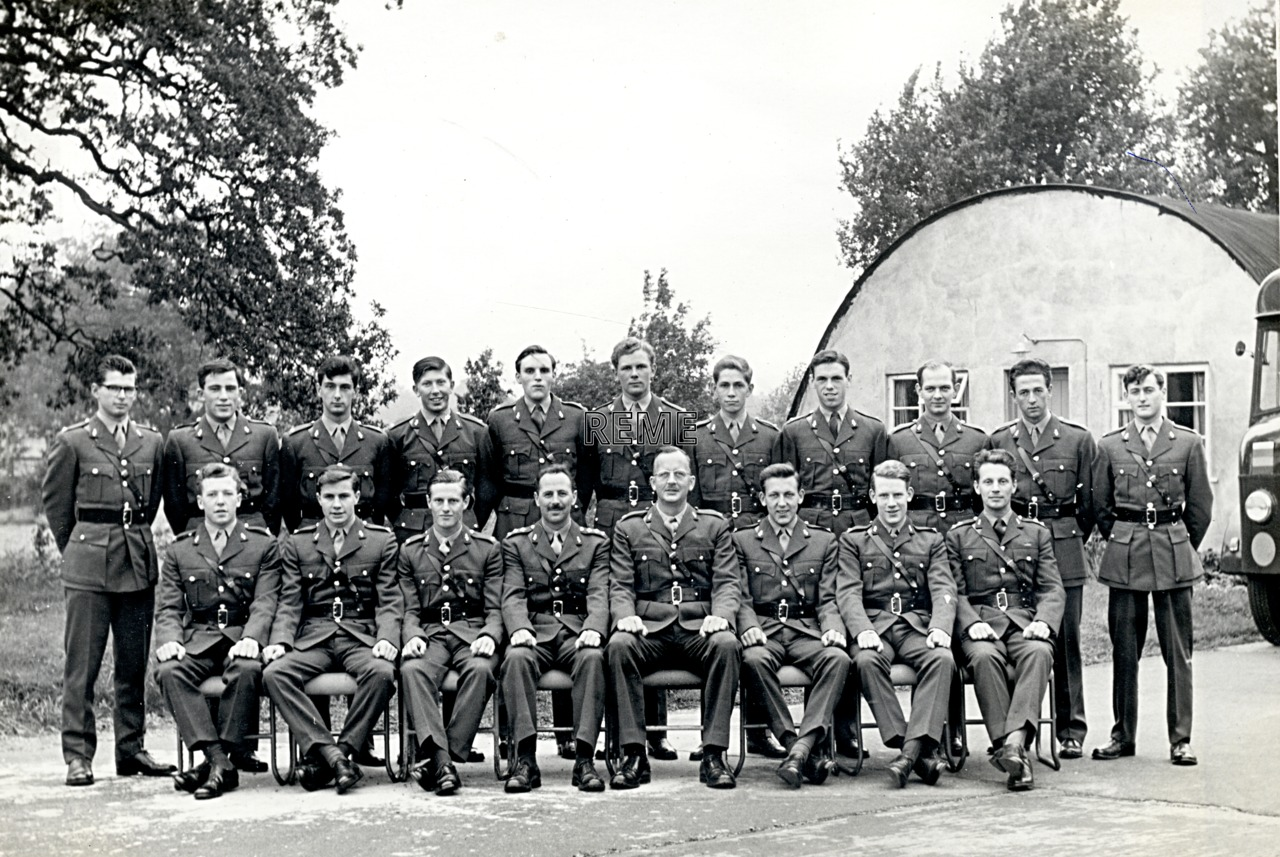 No 29 Regular Young Officers' Course, REME Officers' School, 1962