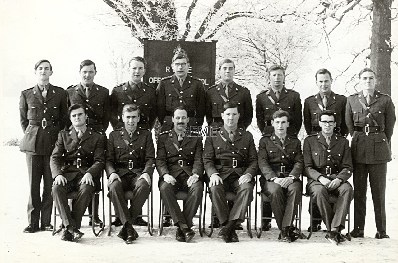 No 30 Regular Young Officers' Course, REME Officers' School, 1963