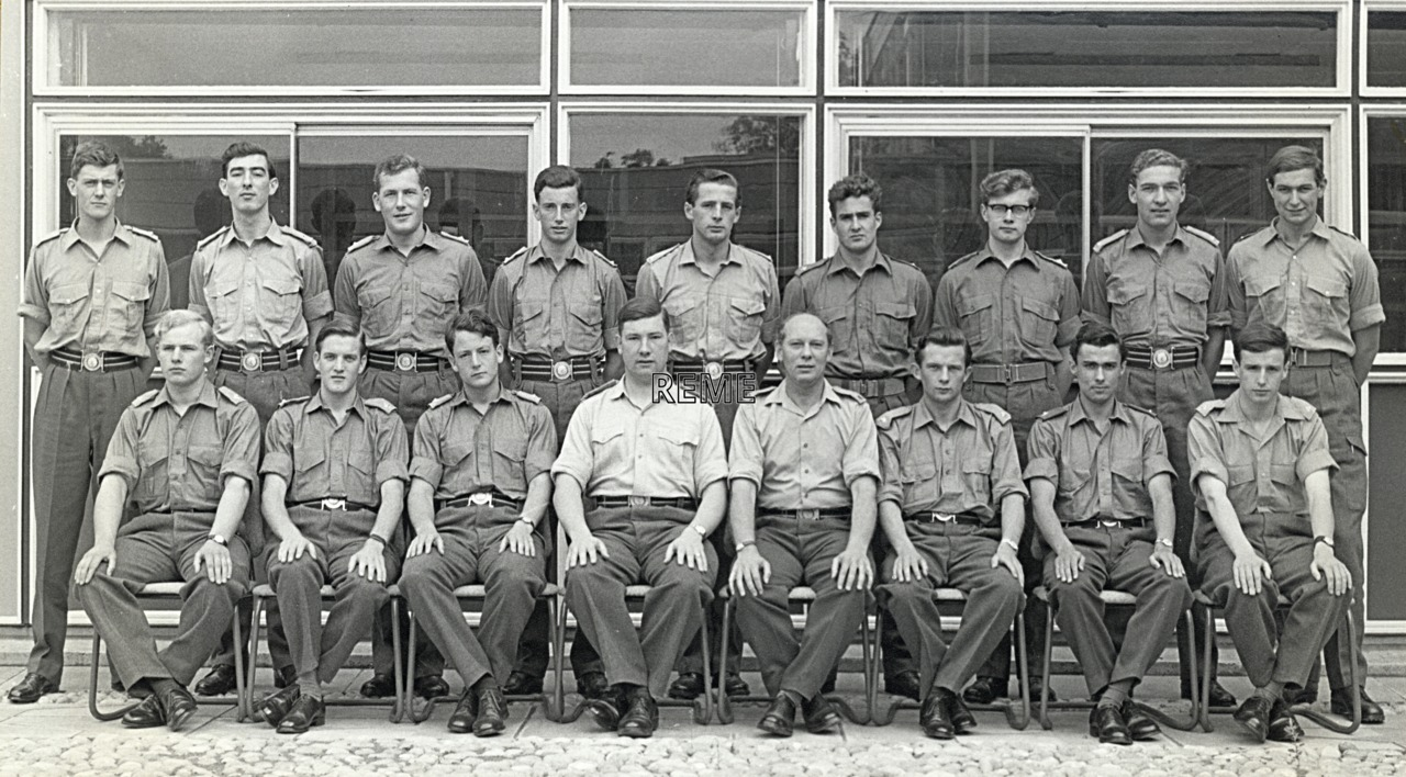 No 31 Regular Young Officers' Course, REME Officers' School, c 1963