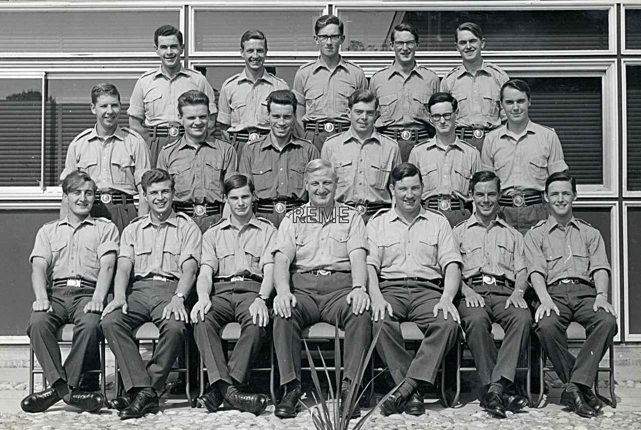 No 33 Regular Young Officers' Course, REME Officers' School, c 1964