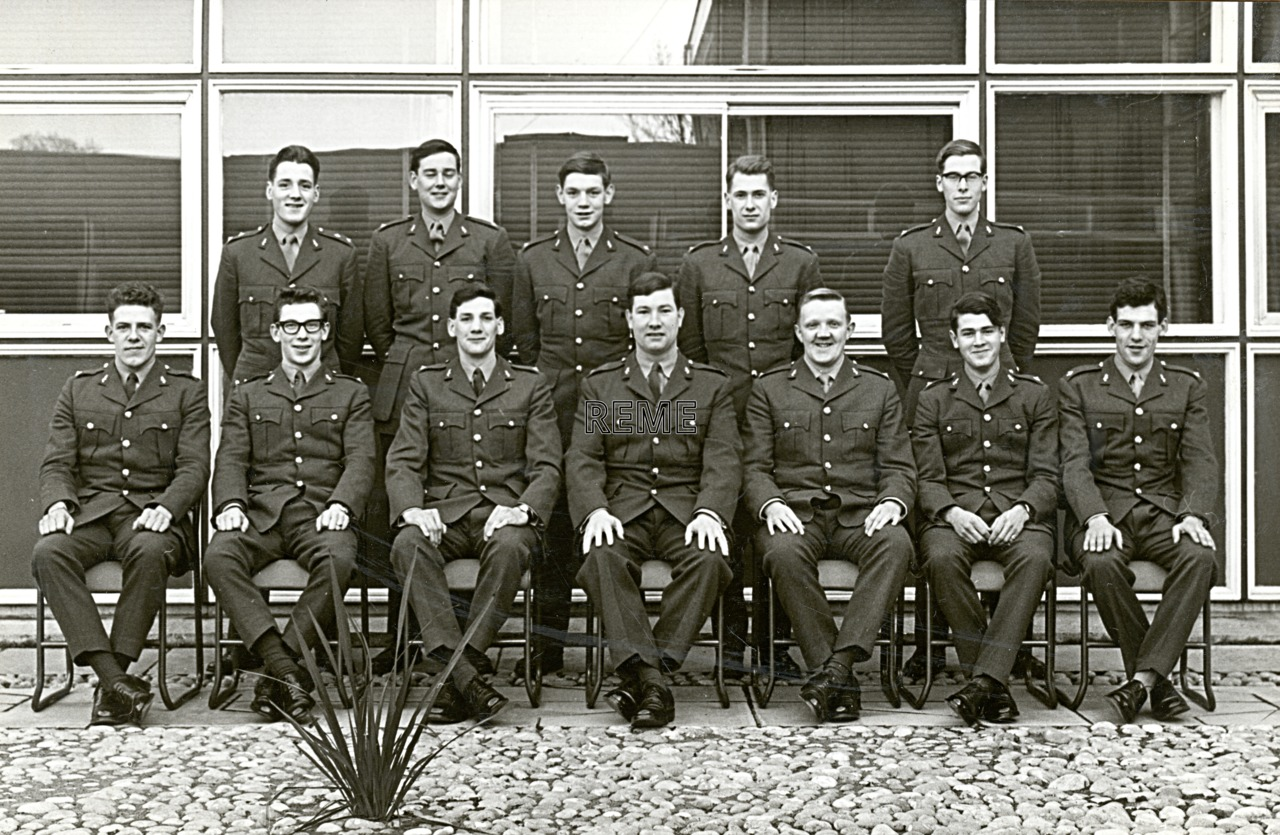 No 34 Regular Young Officers' Course, REME Officers' School, 1965
