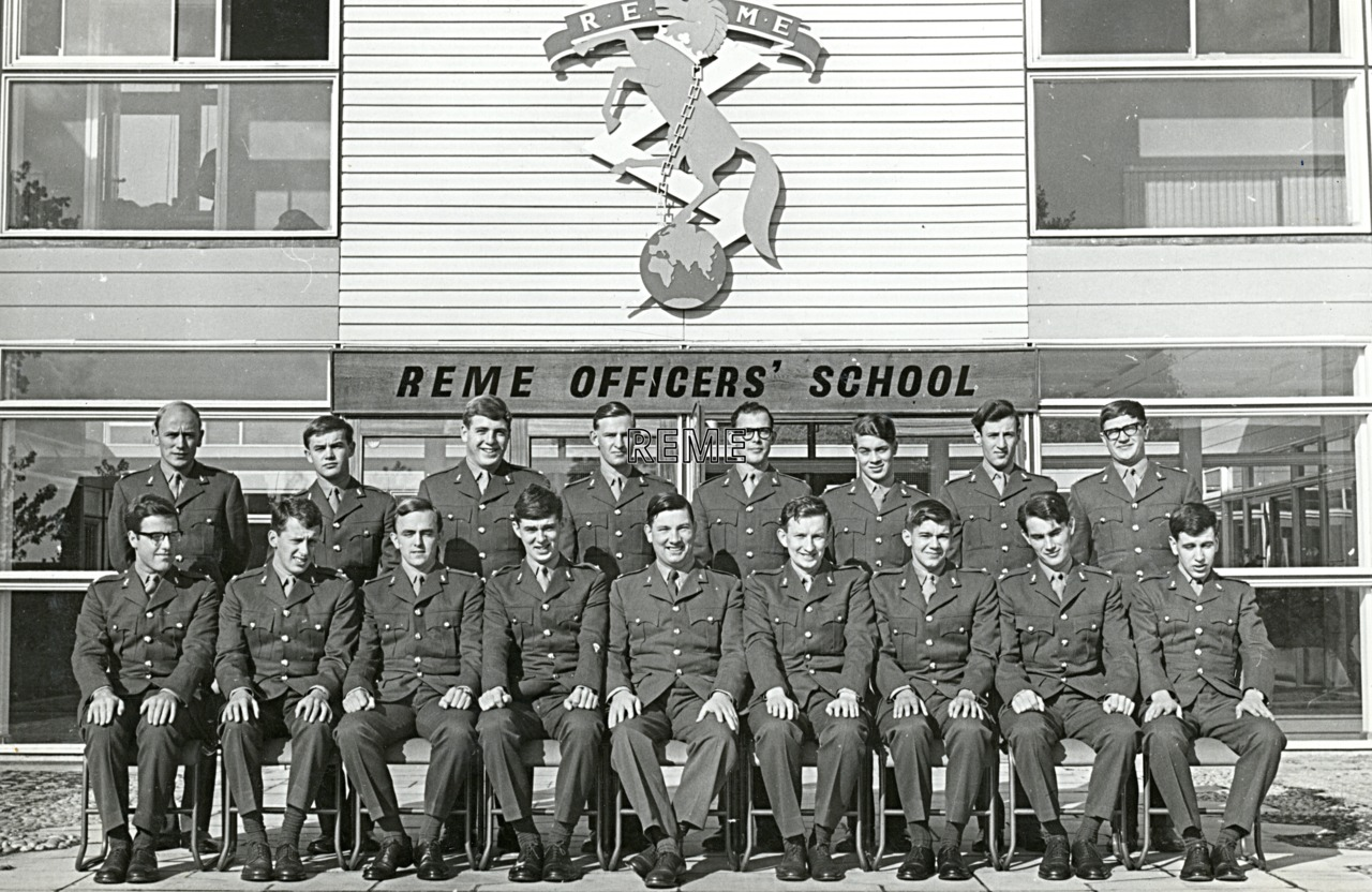 No 35 Regular Young Officers' Course, REME Officers' School, 1965