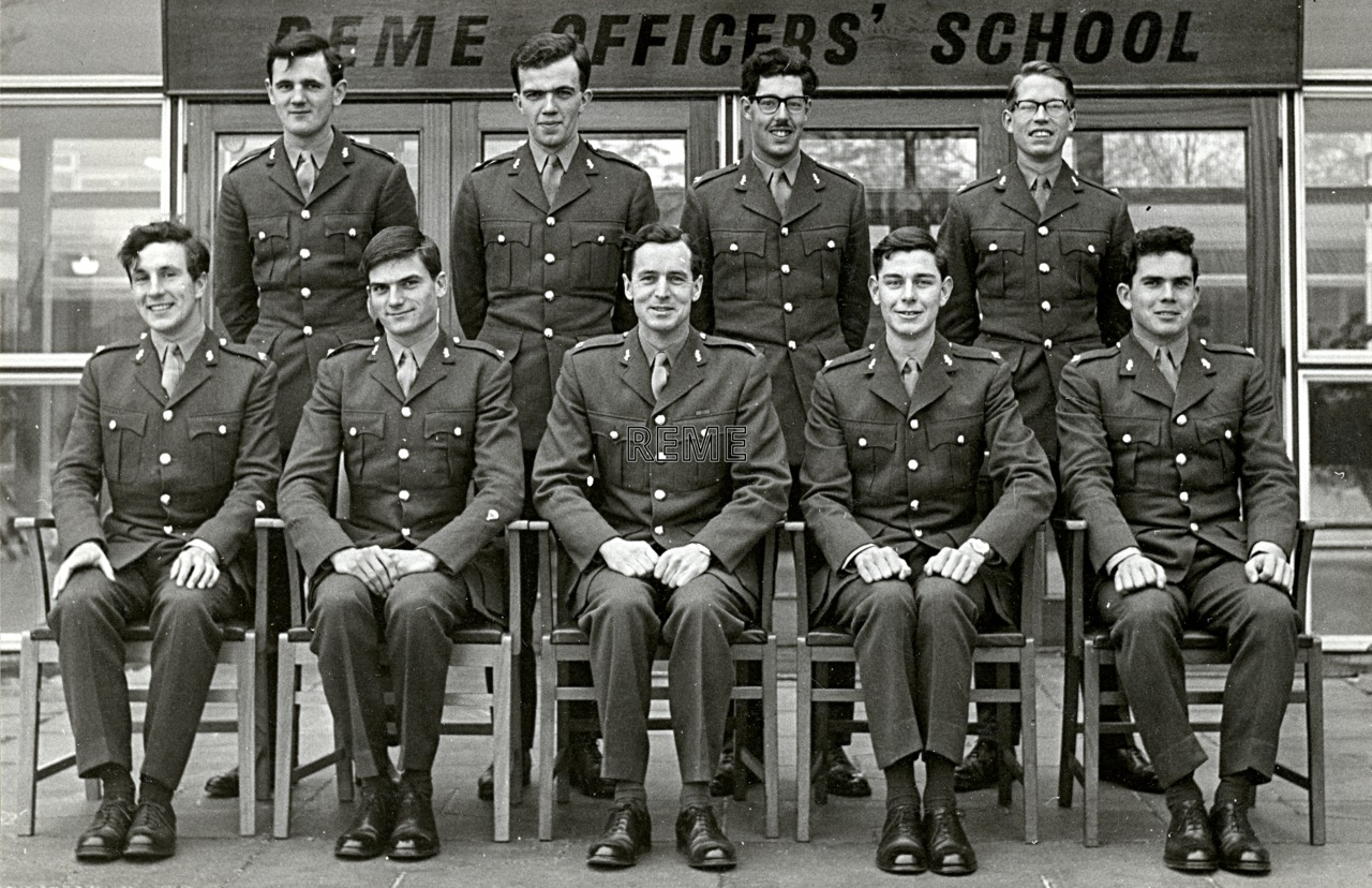 No 36 Regular Young Officers' Course, REME Officers' School, 1966