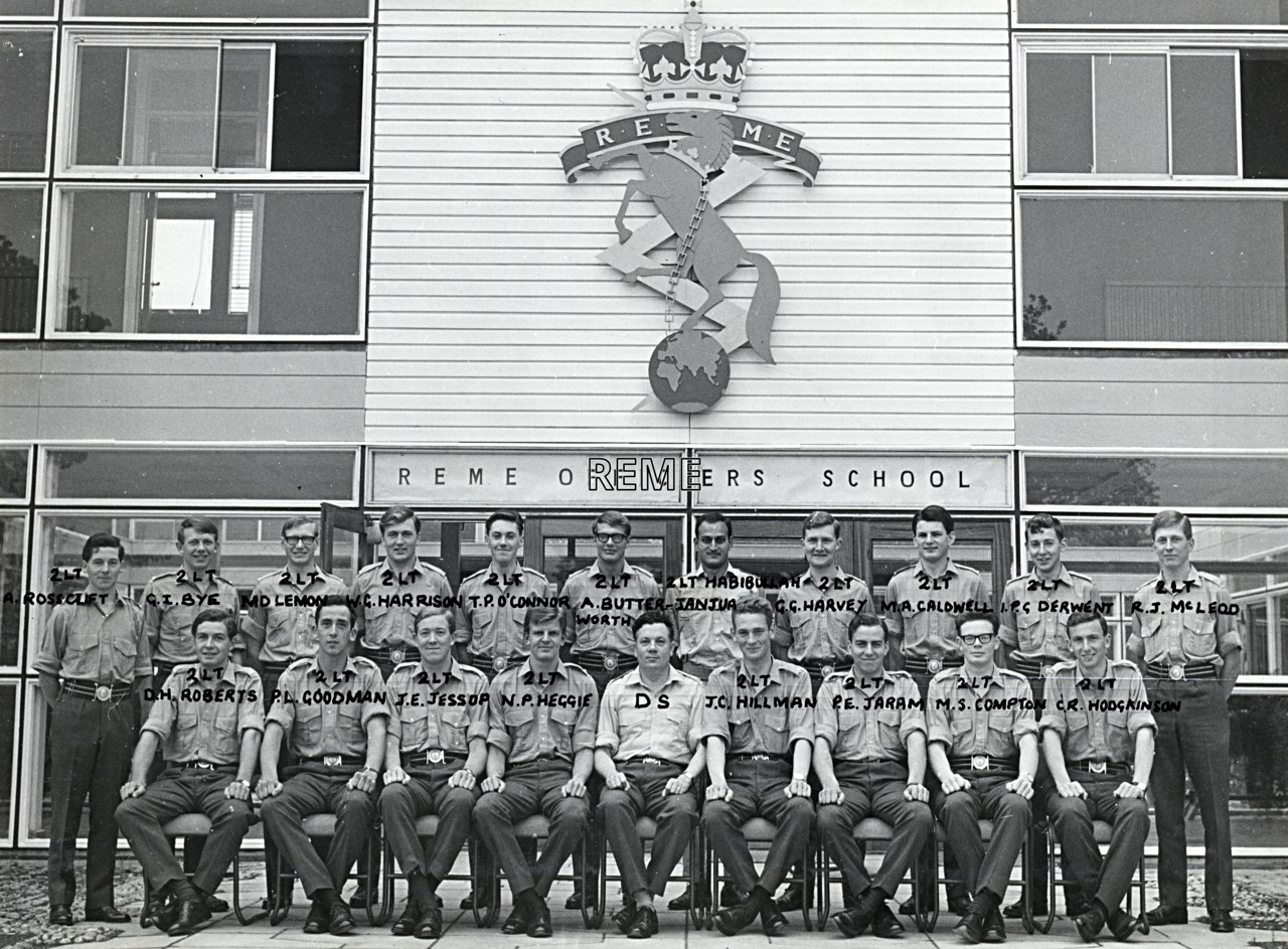 No 37 Regular Young Officers' Course, REME Officers' School, 1966