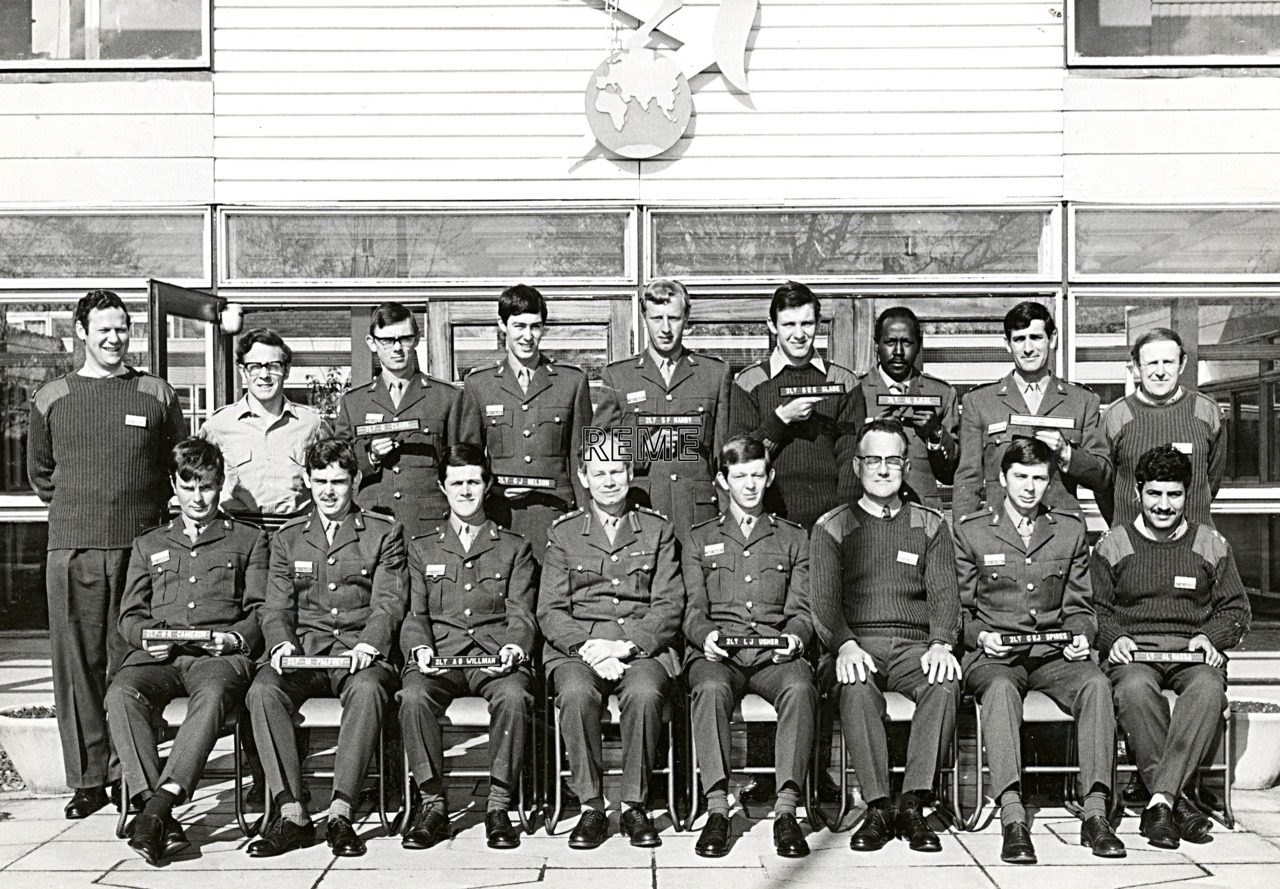 No 48 Regular Young Officers' Course, REME Officers' School, 1972