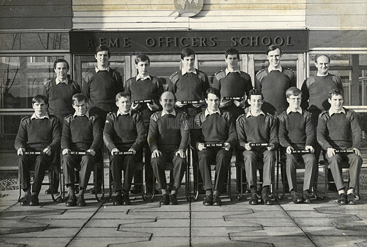 No 59 Regular Young Officers' Course, REME Officers' School, 1976