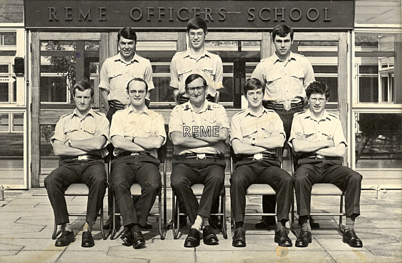 No 60 Regular Young Officers' Course, REME Officers' School, 1976.