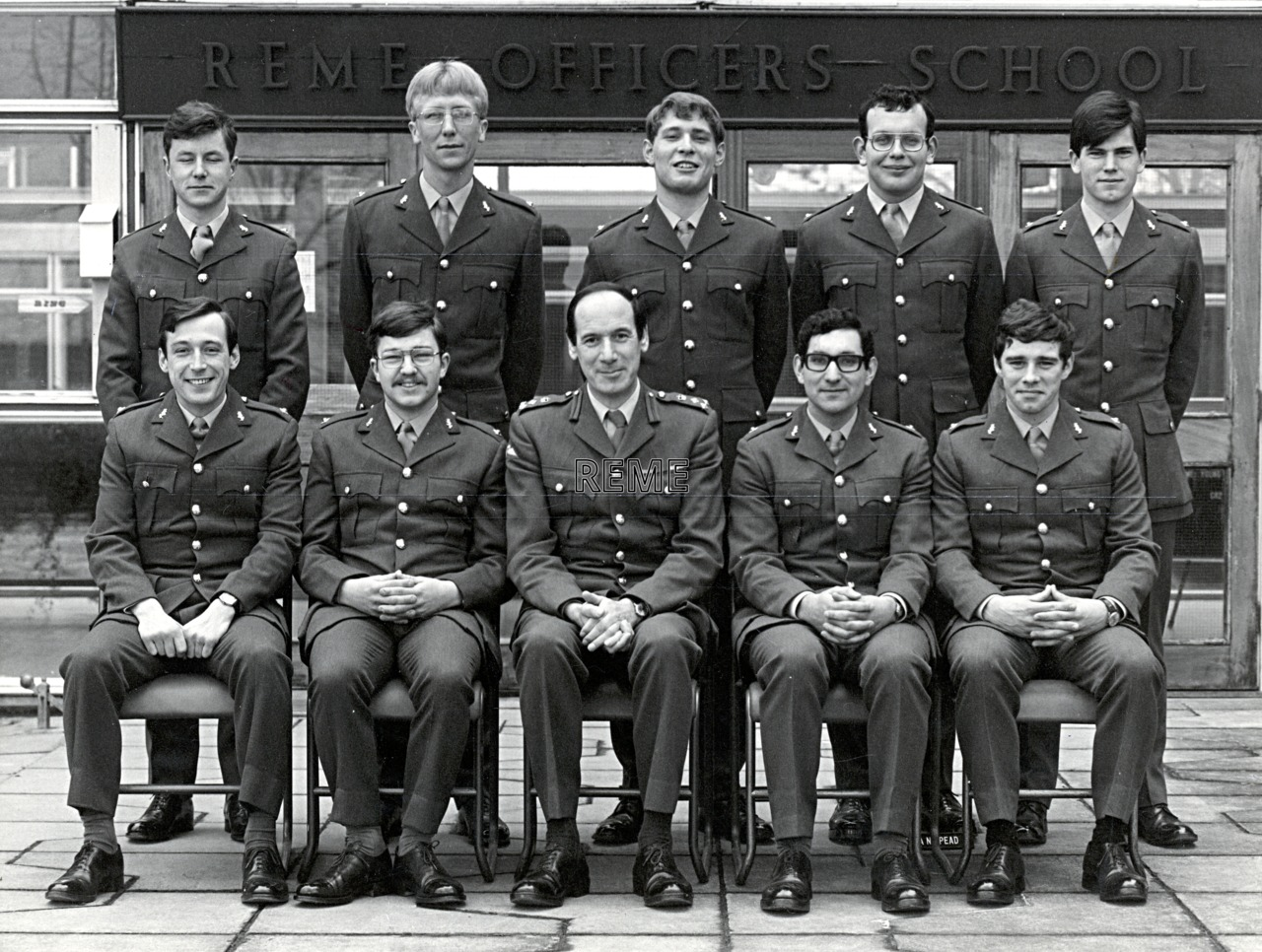 No 62 Regular Young Officers' Course, REME Officers' School, 1977