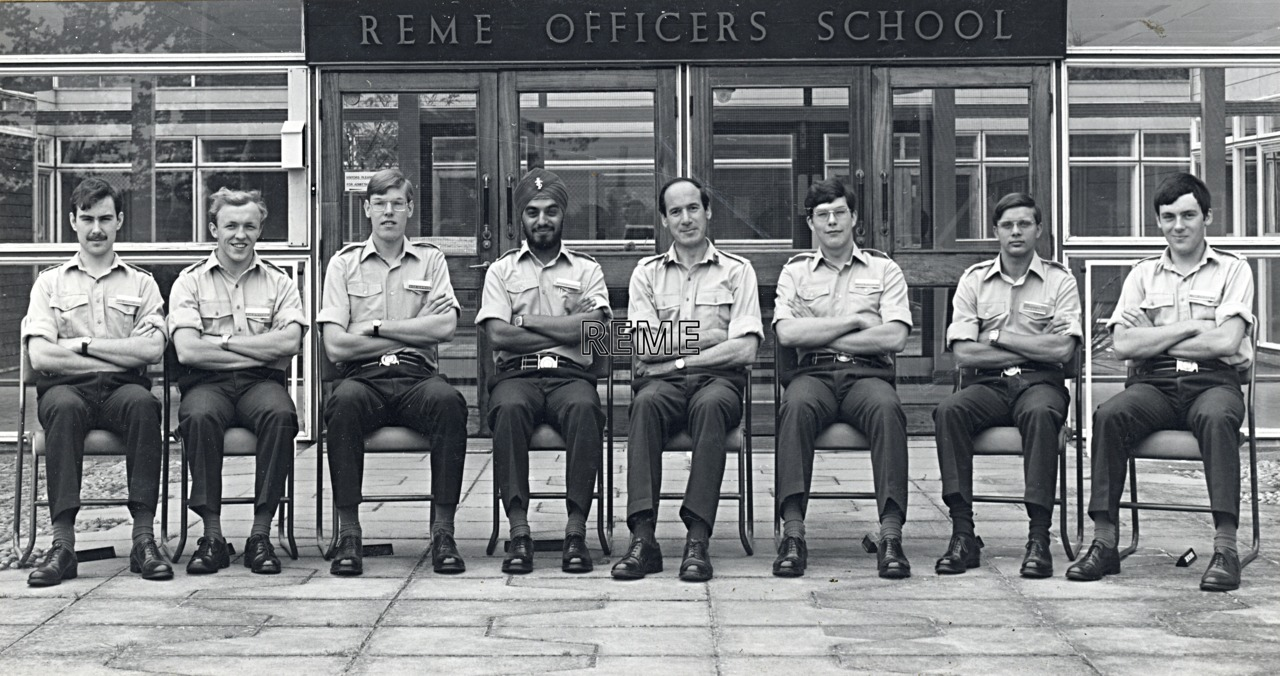 No 63 Regular Young Officers' Course, REME Officers' School, 1977