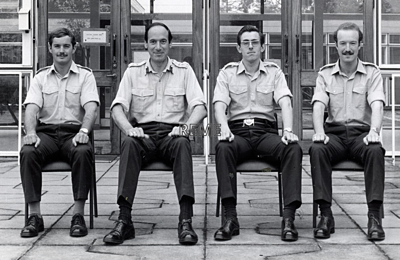 No 66 Regular Young Officers' Course, REME Officers' School, c 1978