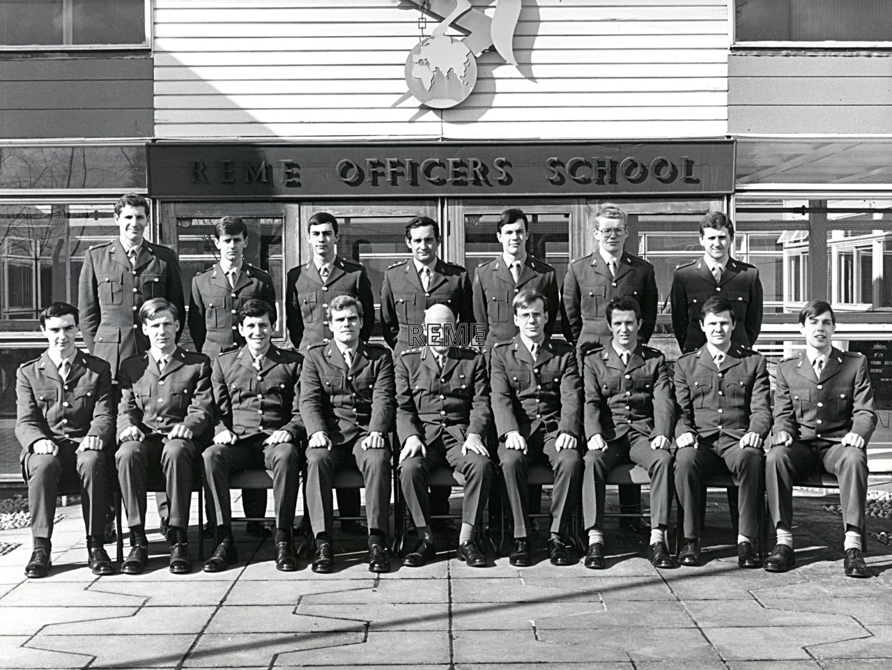 No 74 Regular Young Officers' Course, REME Officers' School, 1981