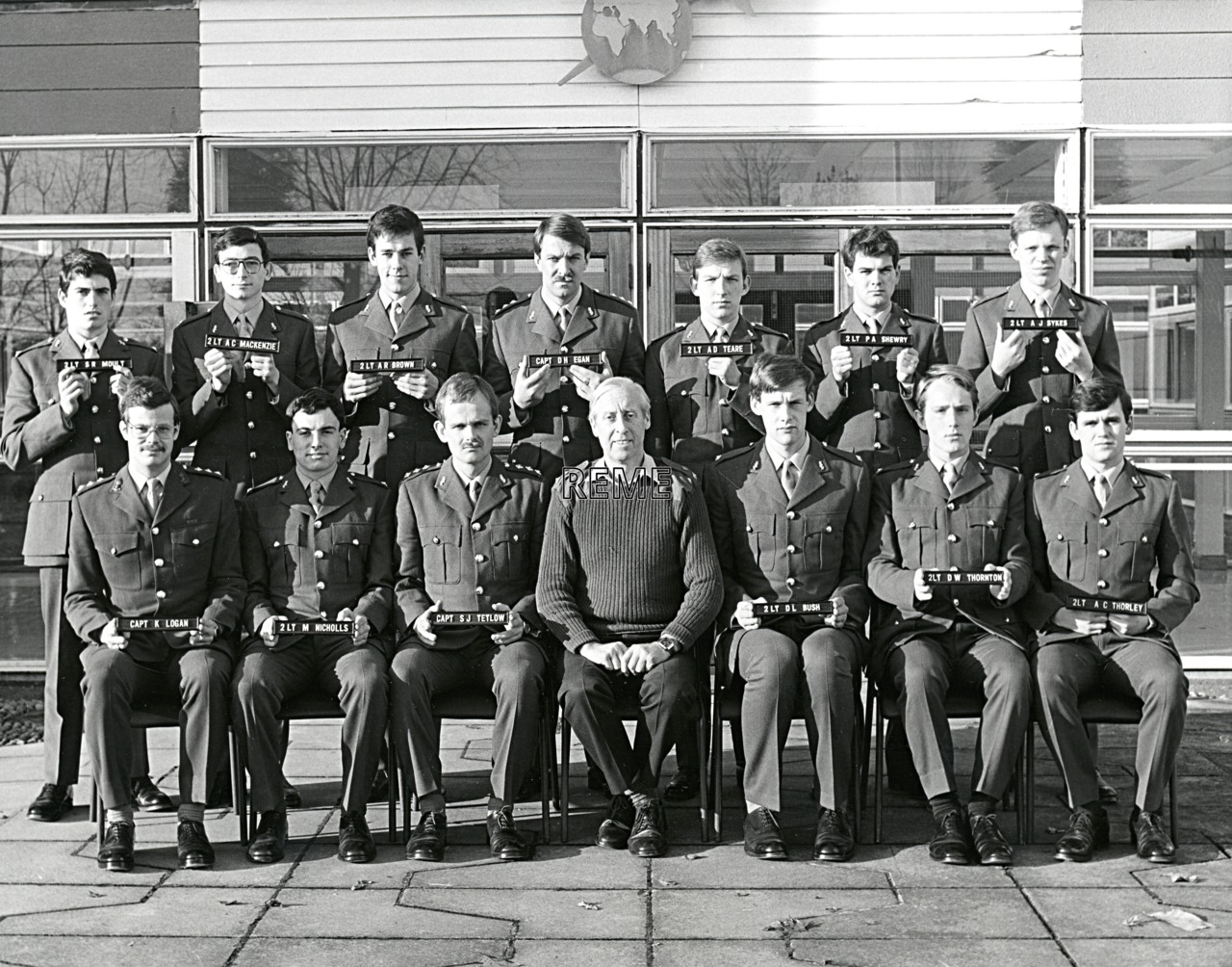 No 76 Regular Young Officers' Course, REME Officers' School, 1981