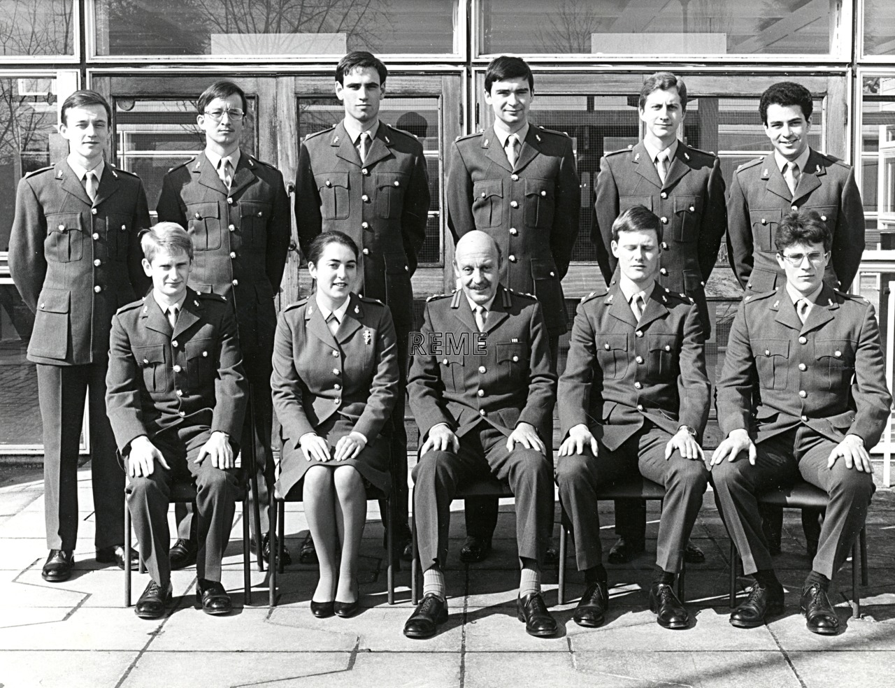No 77 Regular Young Officers' Course, REME Officers' School, 1982