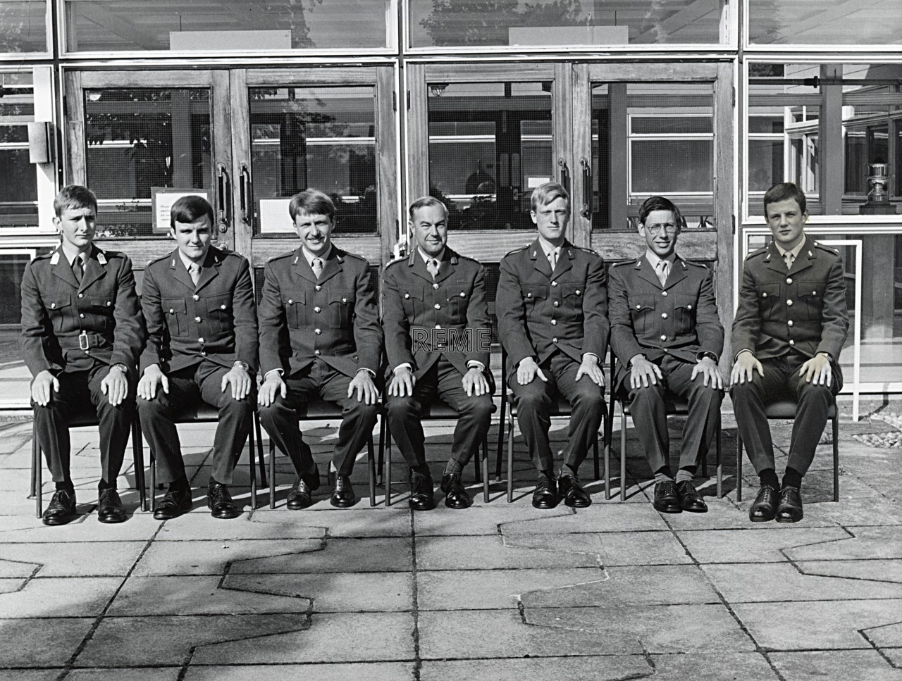 No 79 Regular Young Officers' Course, REME Officers' School, 1983