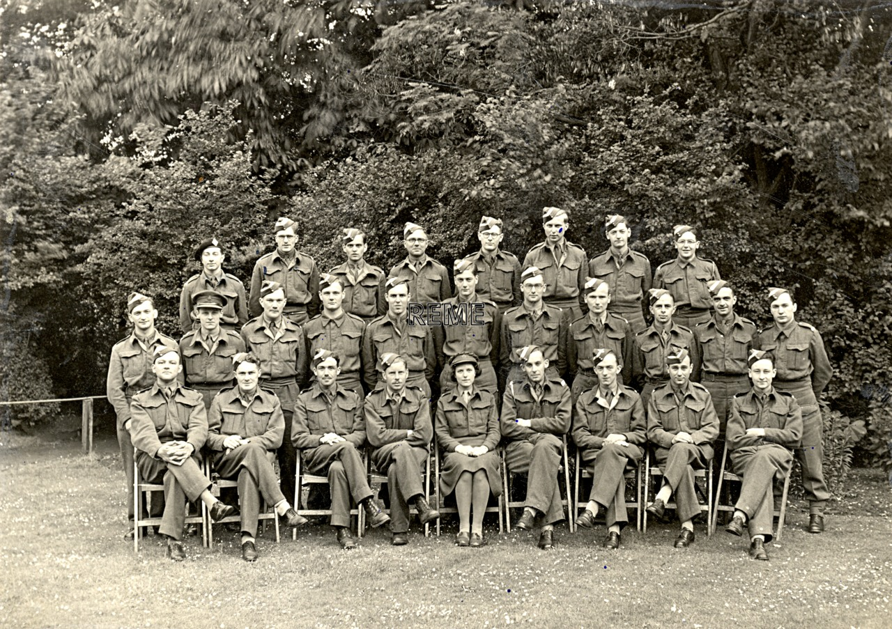Group Photograph: Group 48 – GL/MK II, Gun Laying, Mark II