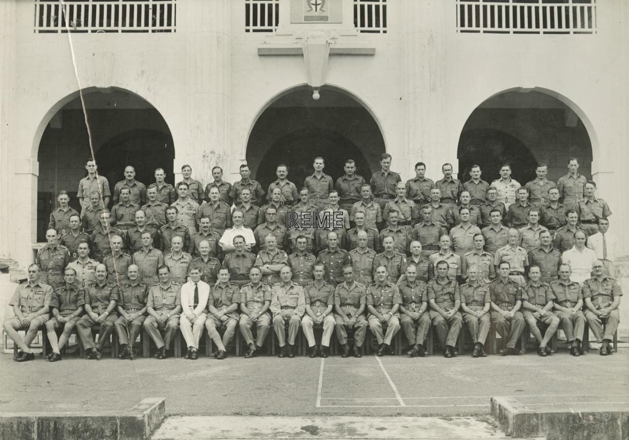 Senior staff of Far East Land Forces (FARELF)