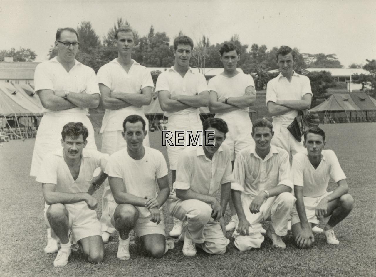 Athletics team, c 1958