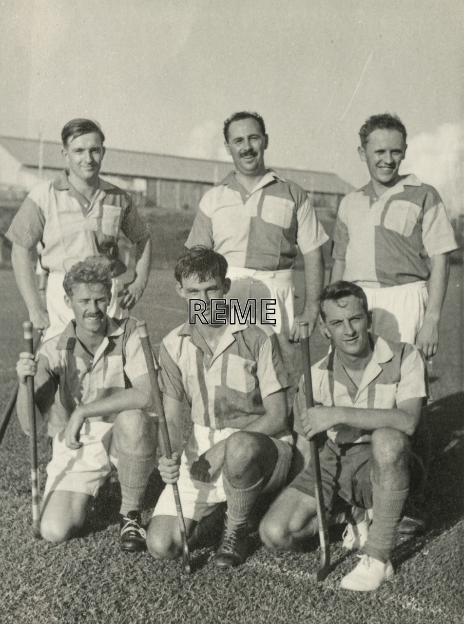 Hockey team, c 1958