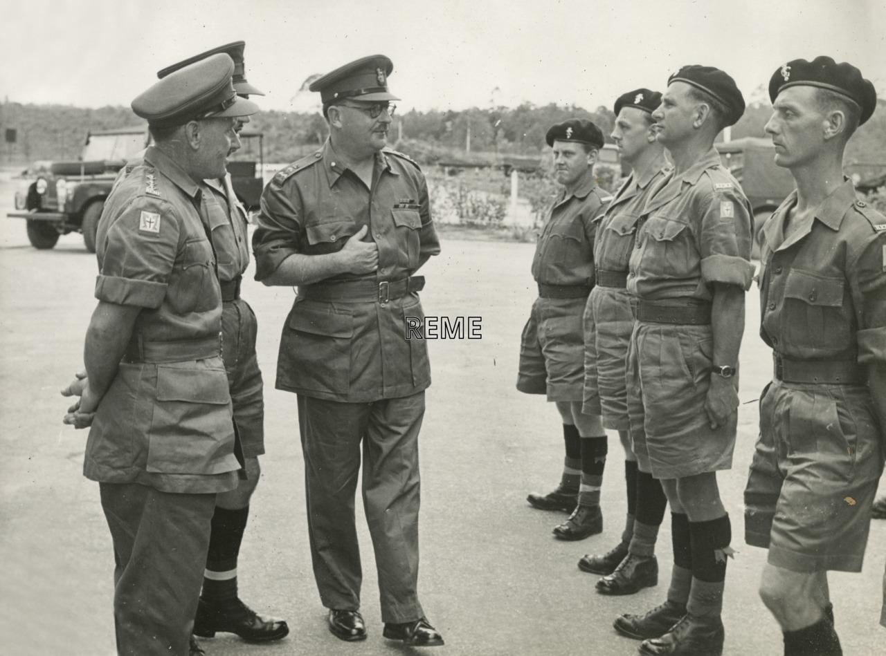 Brigadier D A K Redman OBE, DEME War Office Designate