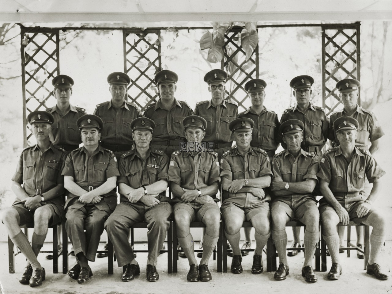 Electrical and Mechanical Engineers (EME) Directorate Far East Land Forces (FARELF), 1963.