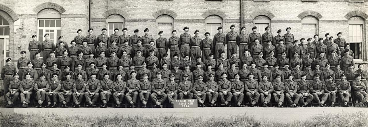 51 Medium Workshop REME, Army Emergency Reserve, 1954