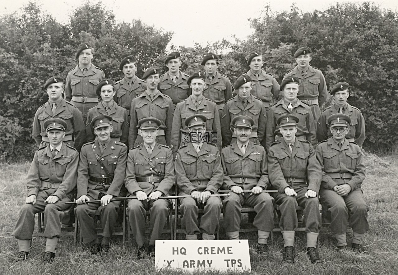 """Headquarters CREME """"X"""" Army Troops, 1953"""