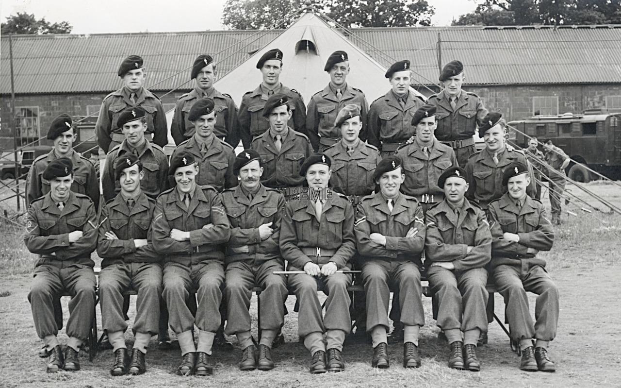 50 Line of Communication Troops Workshop, REME, 1951