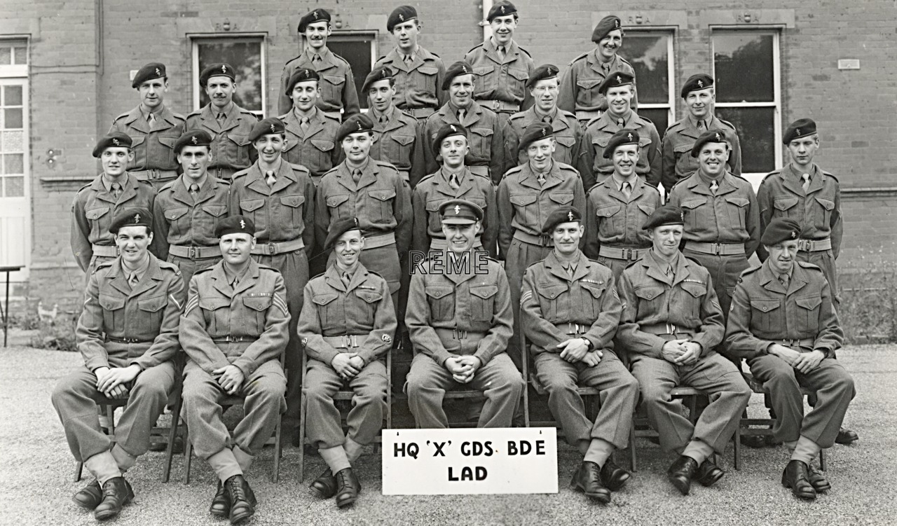 Headquarters 'X' Guards Brigade Light Aid Detachment (LAD), 1952
