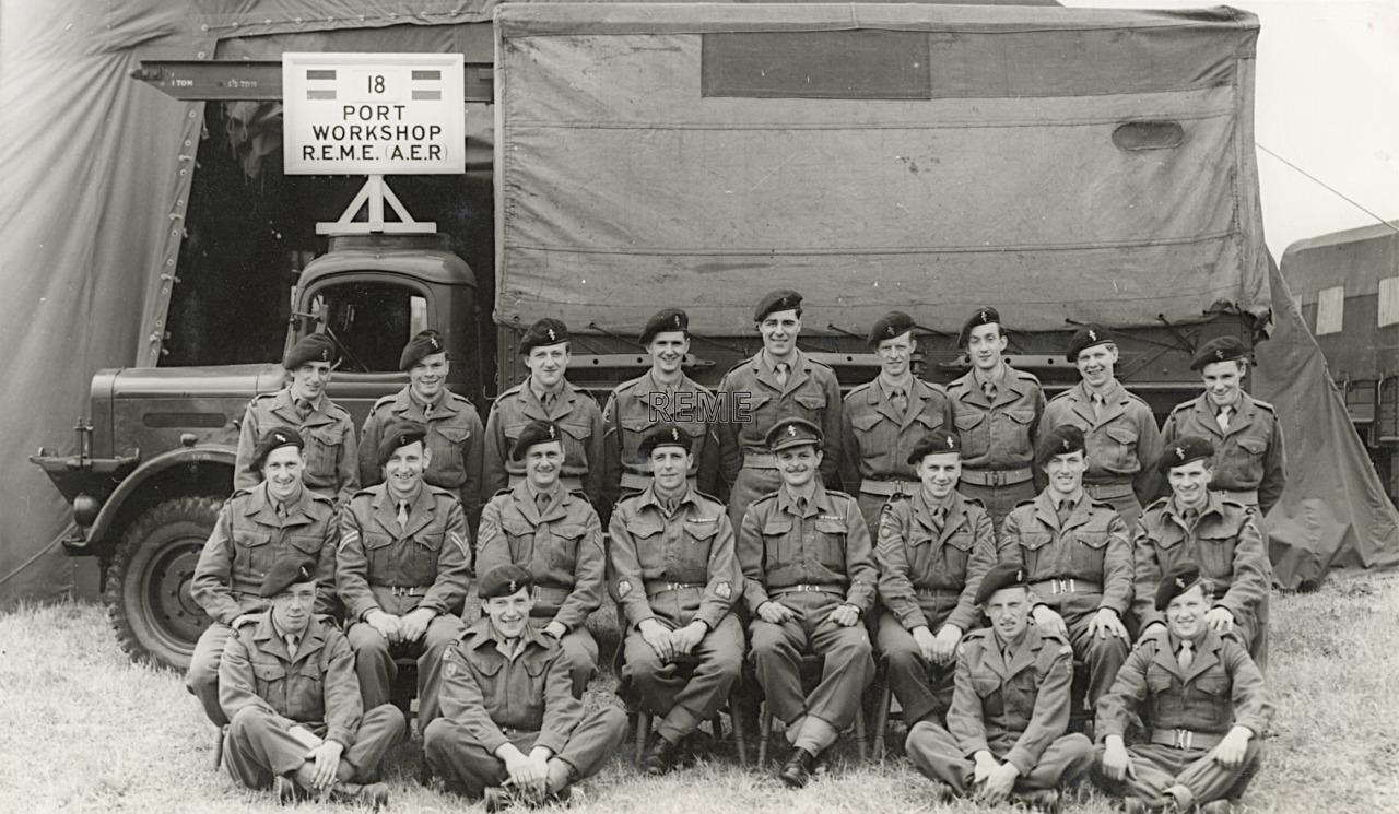 18 Port Workshop, 1954