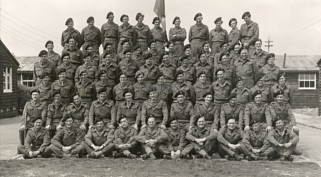 43 Infantry Troops Recovery Unit, 1951