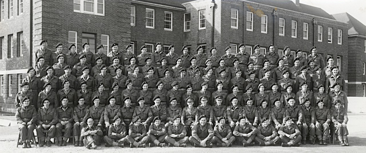 44 Infantry Troops Recovery Unit, 1952