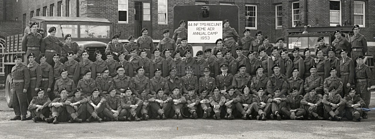 44 Infantry Troops Recovery Unit, 1953