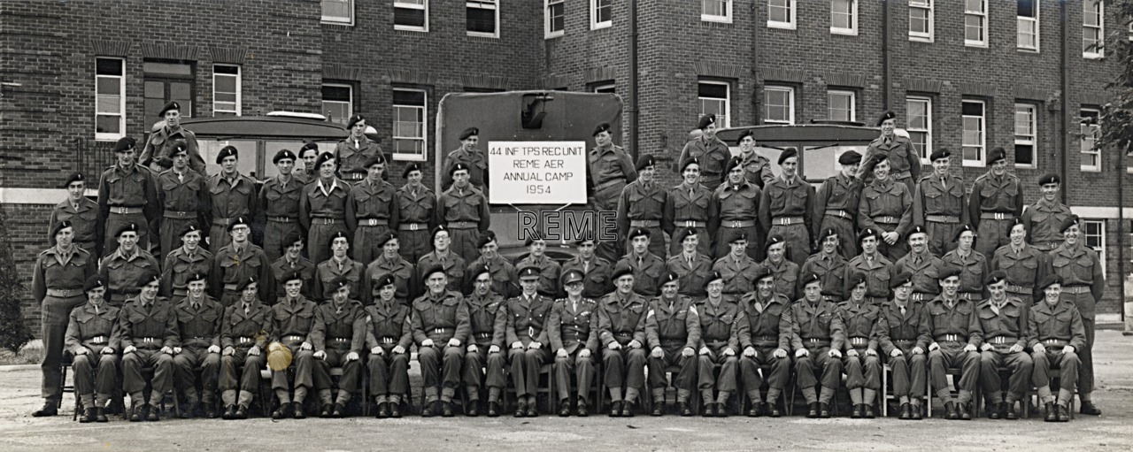 44 Infantry Troops Recovery Unit, 1954