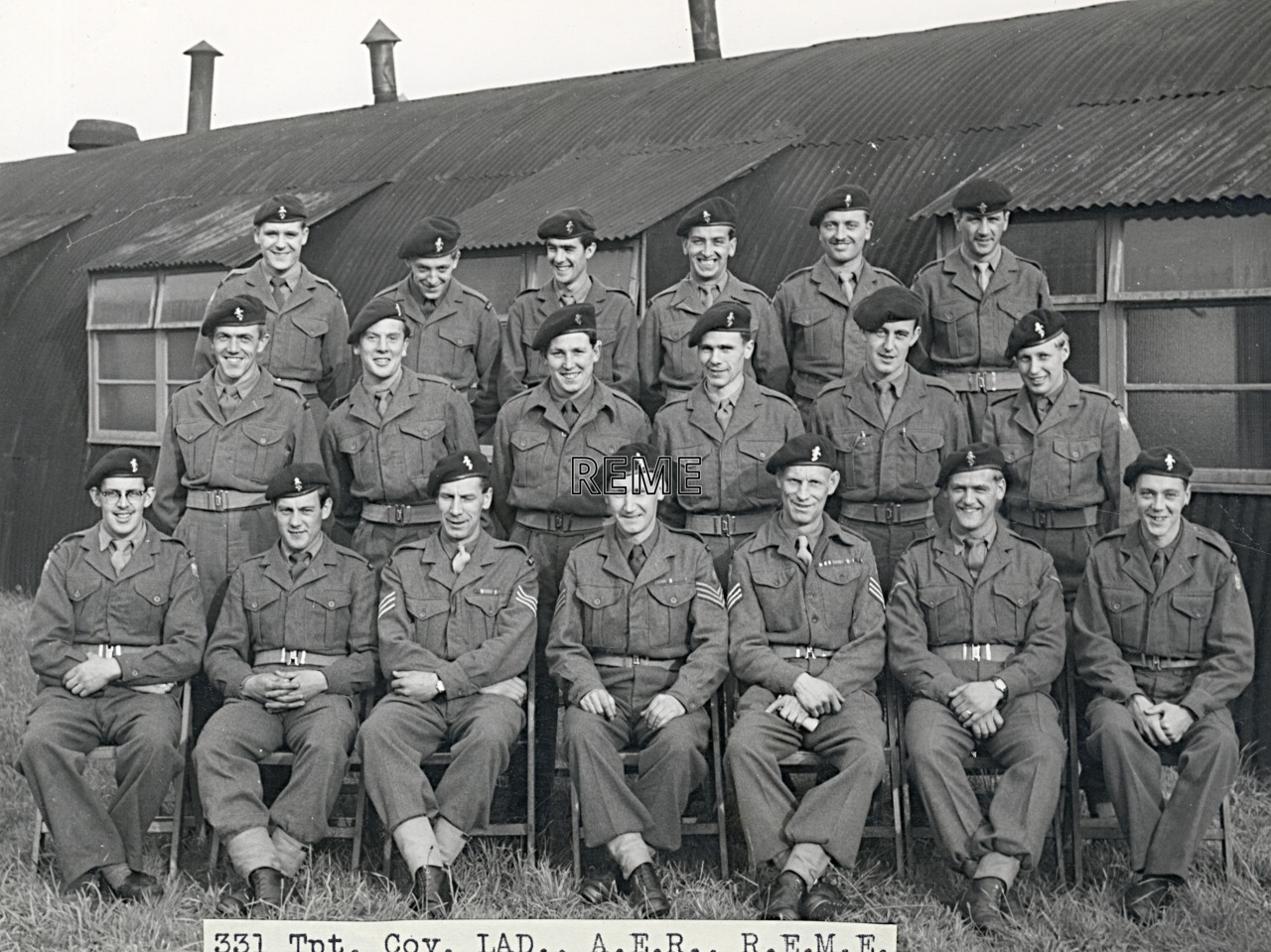 331 Transport Company Light Aid Detachment (LAD). Annual Training, 1955.