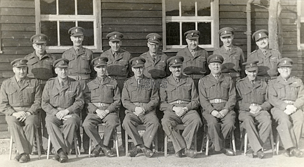 No 1 Territorial Army (TA)/Personal Staff Officer (PSO) Course, 28 January to 11 February 1954