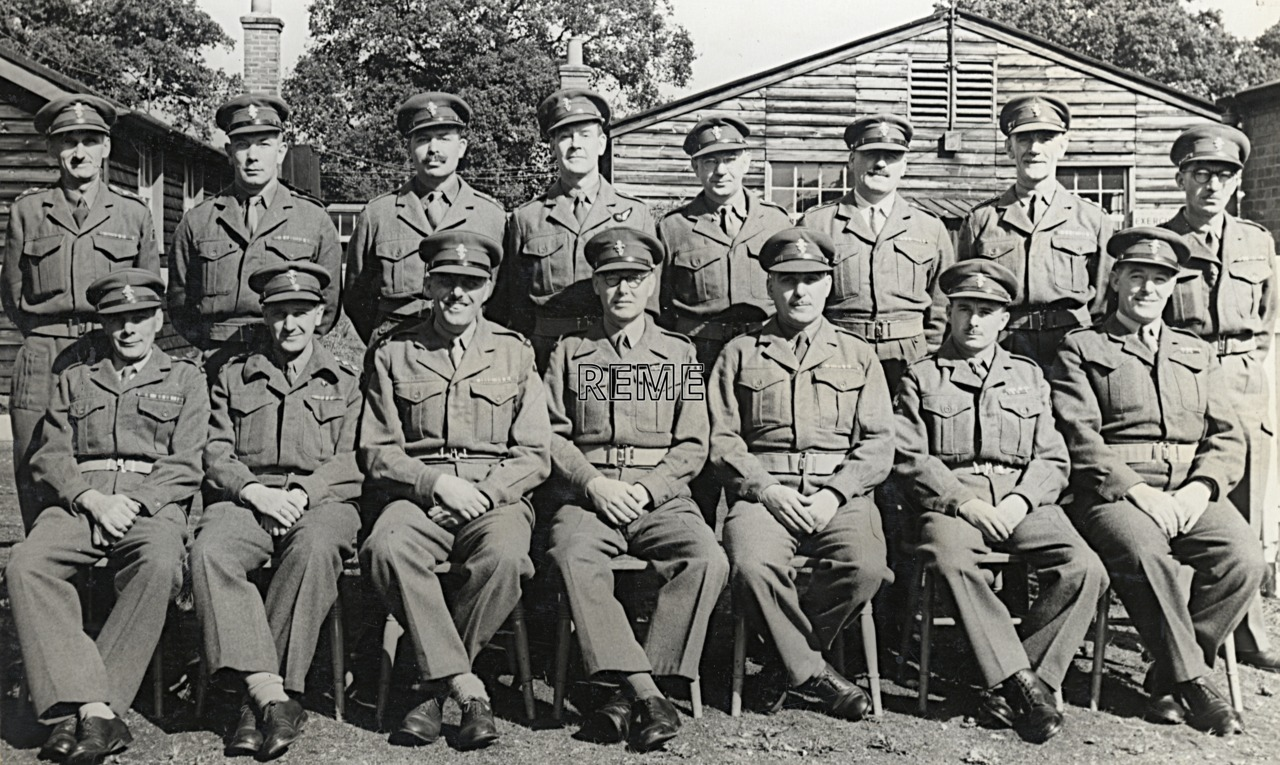 No 3 Territorial Army (TA)/Personal Staff Officer (PSO) Course, 16 to 29 September 1954