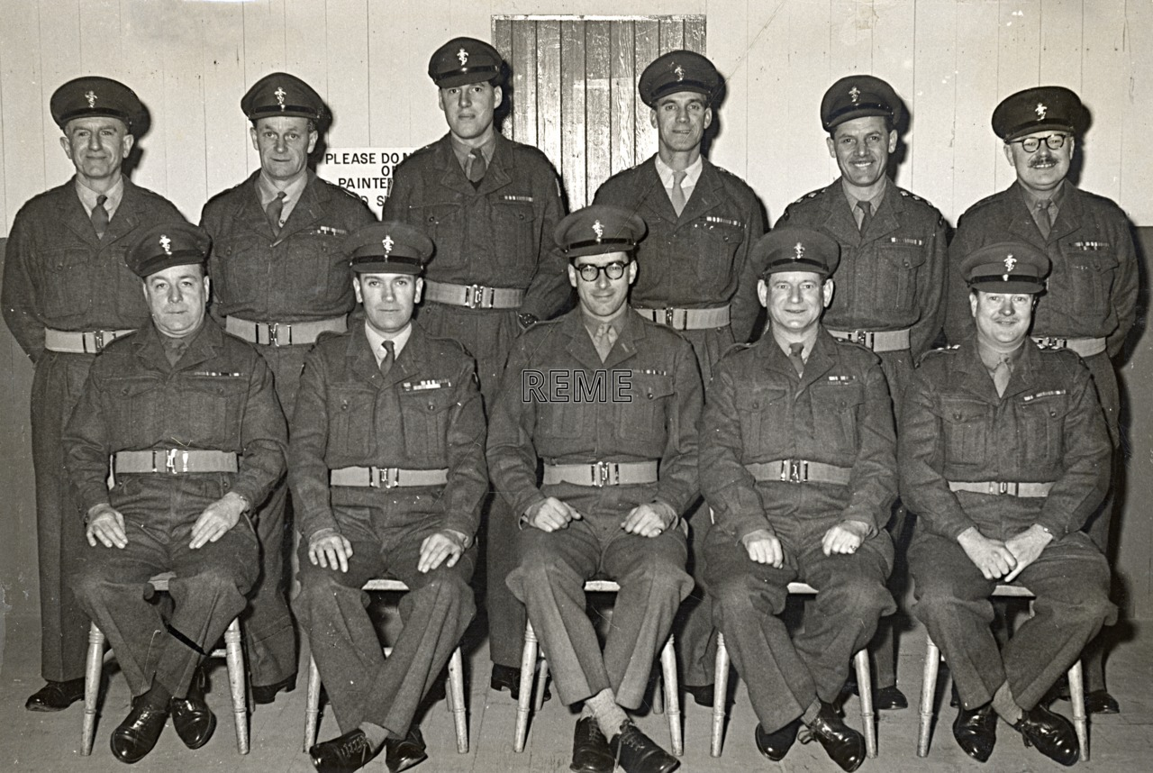 No 1/2(?) Territorial Army (TA)/Personal Staff Officer (PSO) Course