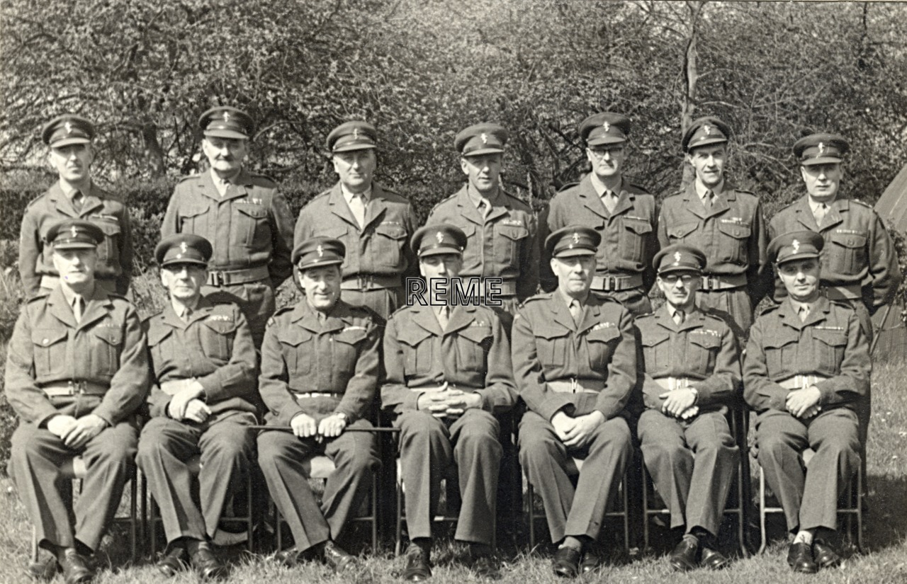 No 3 Territorial Army (TA)/Personal Staff Officer (PSO) Course, 20 April to 4 May 1960