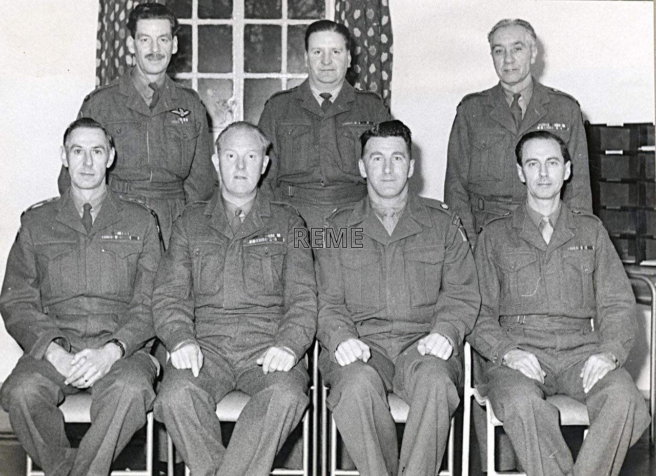 No 5 Territorial Army (TA)/Personal Staff Officer (PSO) Course, 21 November to 13 December 1961