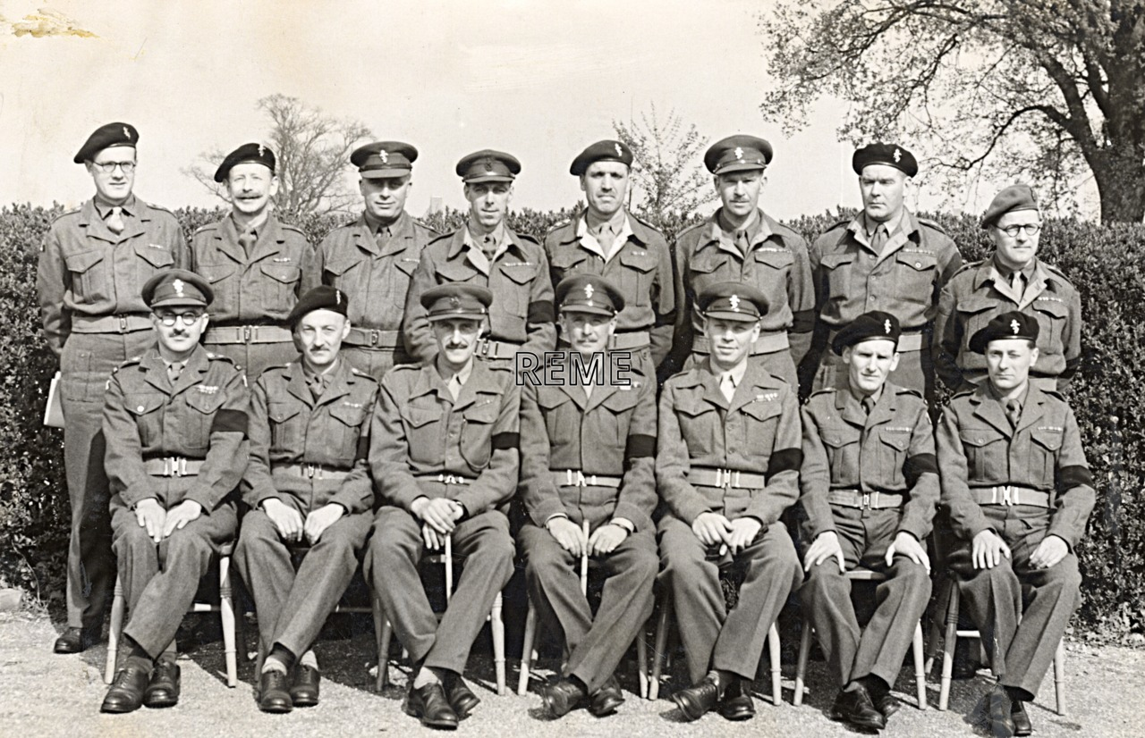 CHECK – No 1 Reserve Officers' Course, 19 April to 3 May 1952