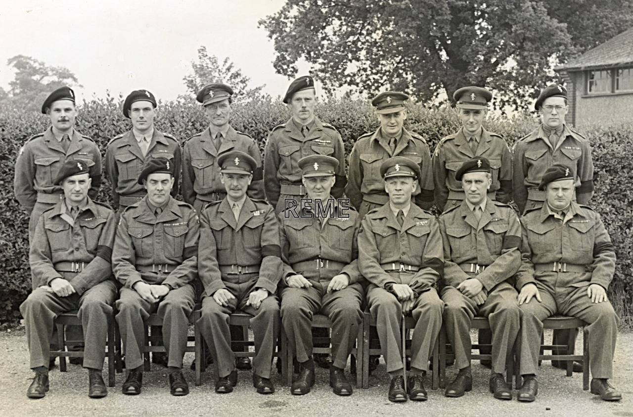 No 2 Reserve Officers' Course, 17 to 31 May 1952