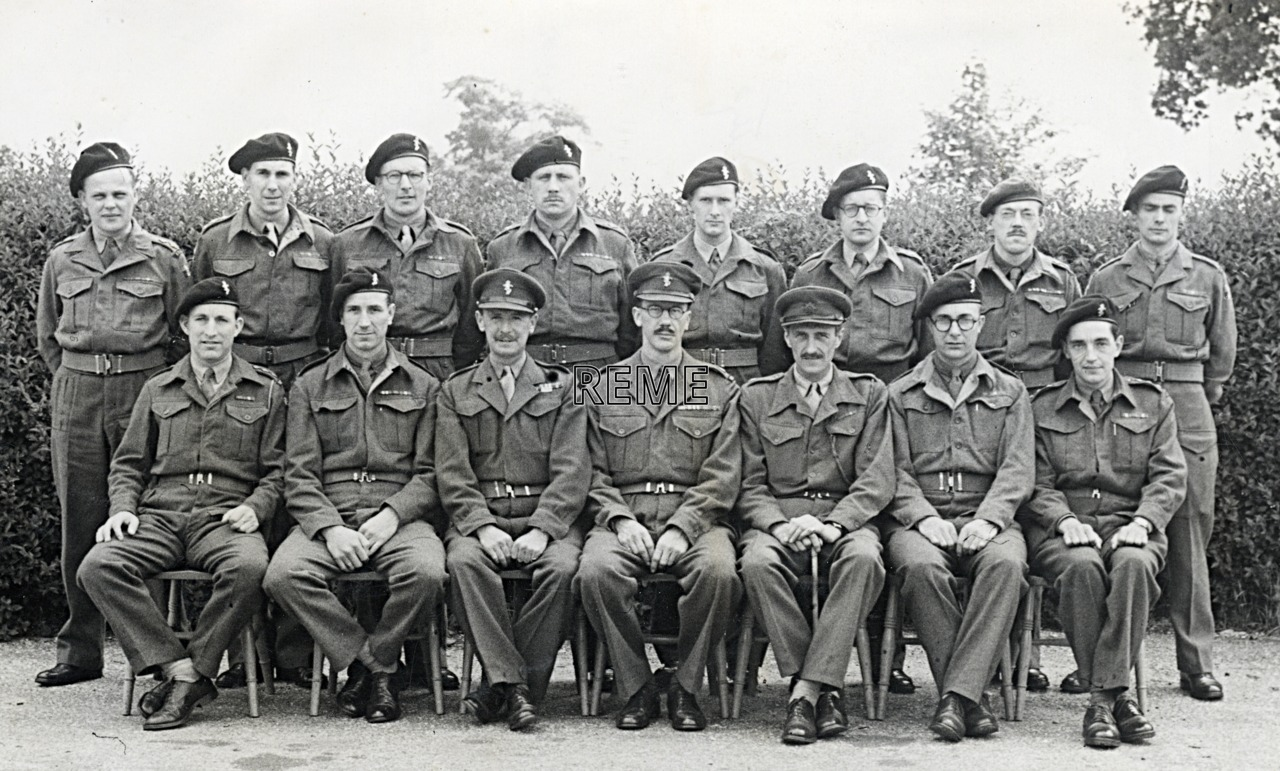 No 4 Reserve Officers' Course, 7 to 21 June 1952