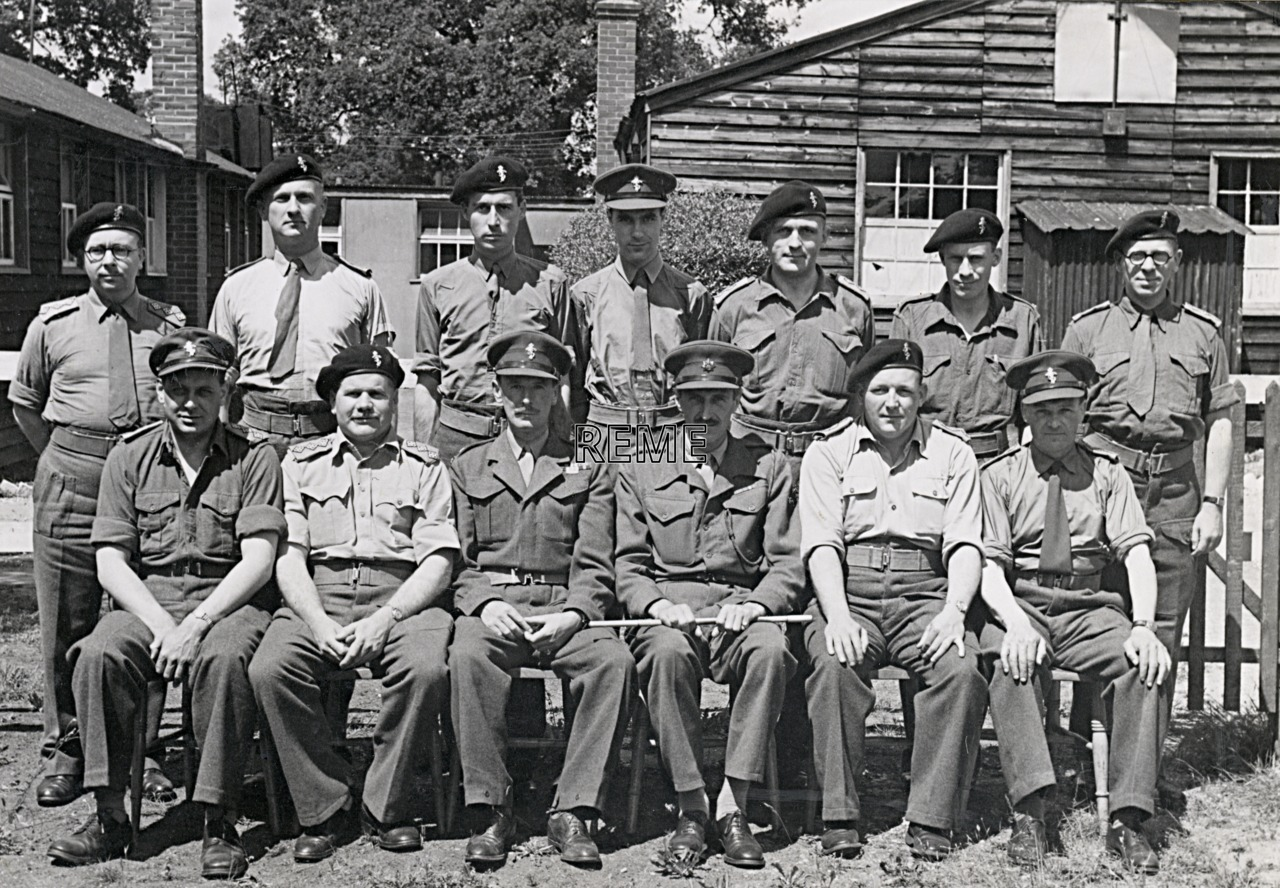 No 5 Reserve Officers' Course, 21 June to 1 July 1952