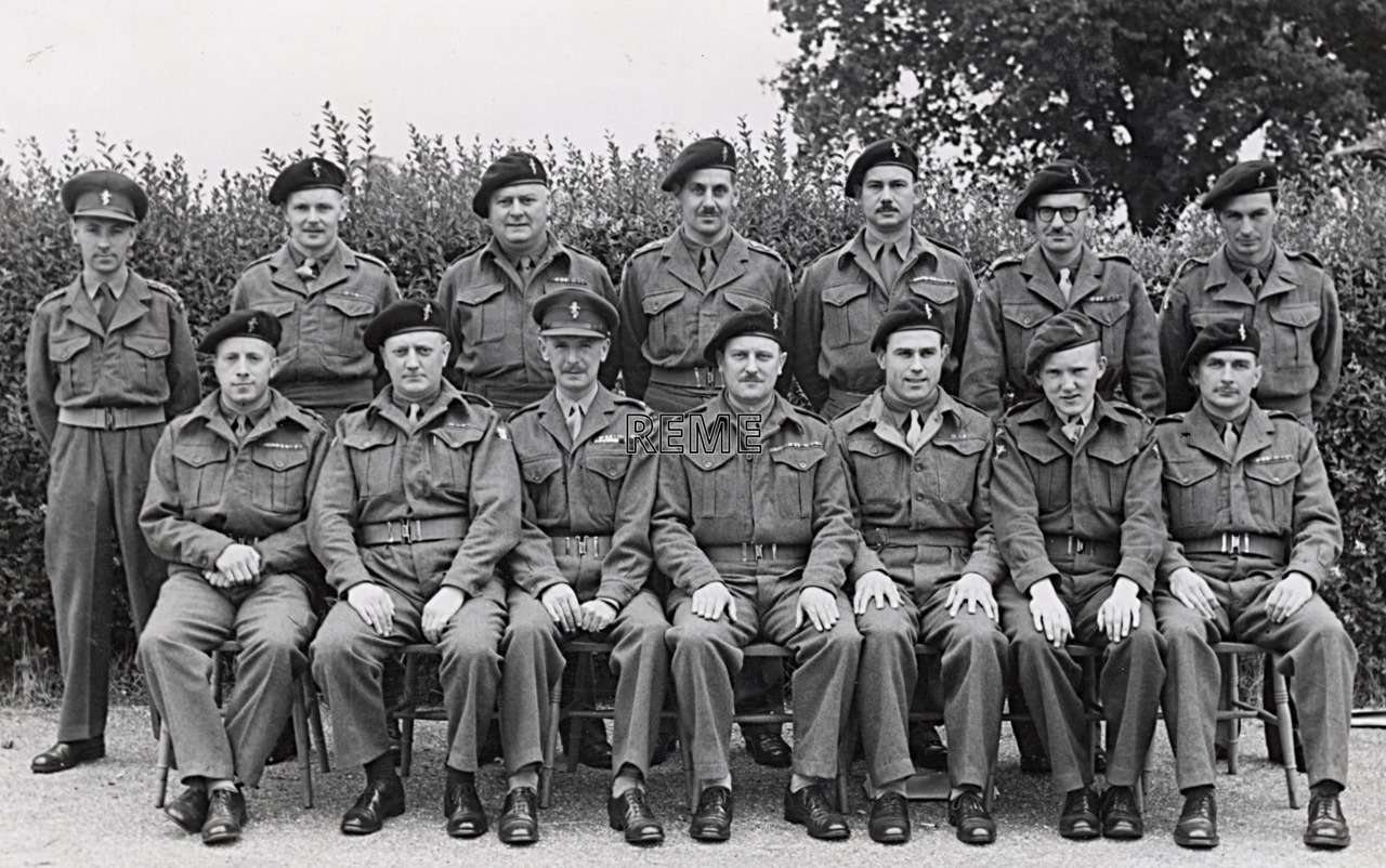No 6 Reserve Officers' Course, 6 to 15 July 1952