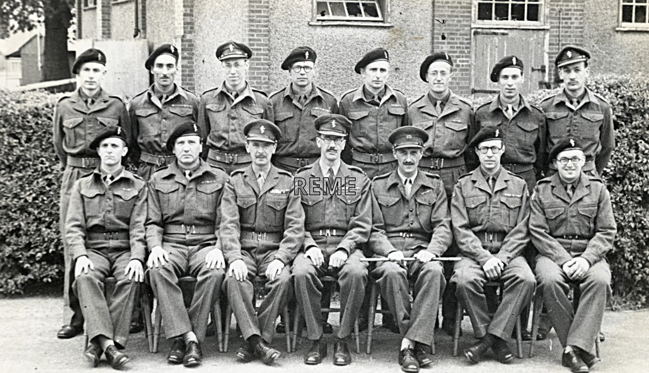 No 7 Reserve Officers' Course, 19 July to 2 August 1952
